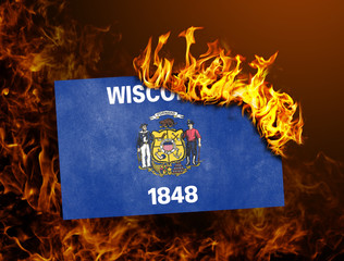 Flag burning - Wisconsin