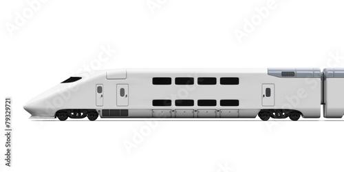 Bullet Train Isolated - 79329721