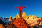 Hike in Patagonia - Fine Art prints
