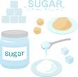 砂糖,角砂糖,シュガーポット - 79330353