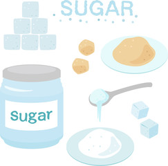 砂糖,角砂糖,シュガーポット