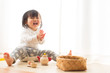 Leinwanddruck Bild - 楽しく遊ぶ子供