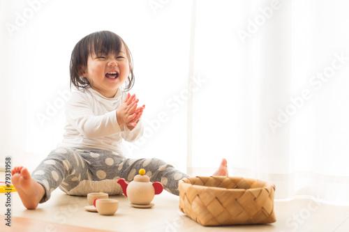 Leinwanddruck Bild 楽しく遊ぶ子供