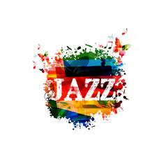 Colorful JAZZ design