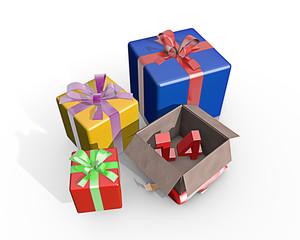 Cadeaus voor de veertiende
