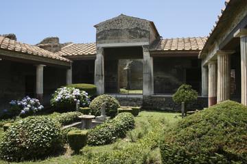 Pompeian house, Naples (Italy)
