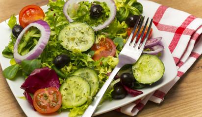 Almuerzo vegetal