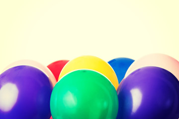 Colorful ballons.