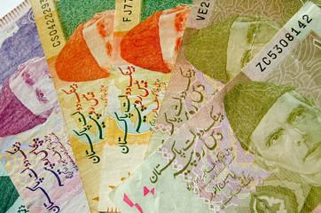 Fan of Pakistan Rupees