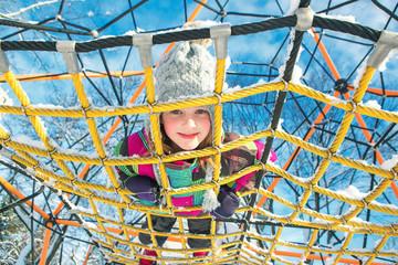 Kid at the playground