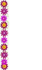 Flores en vertical 2.