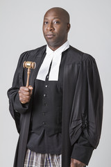 A lawyer and his gavel
