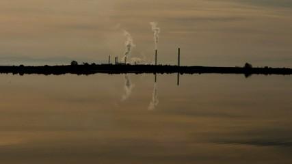 fabrika bacaları ve çevre kirliliği