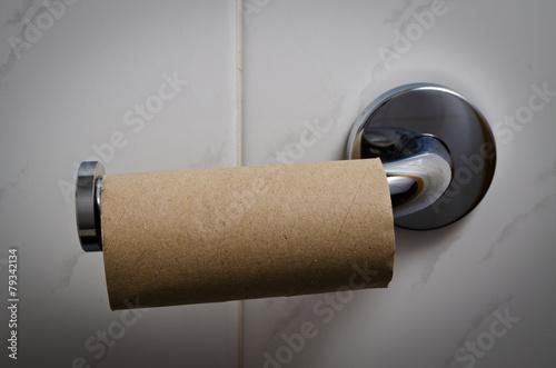Empty toilet roll - 79342134