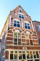 Beautiful old house in the Dutch town of Gorinchem