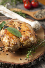 Stuffed oven chicken breast