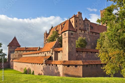 fototapeta na ścianę Gotycki zamek w Malborku