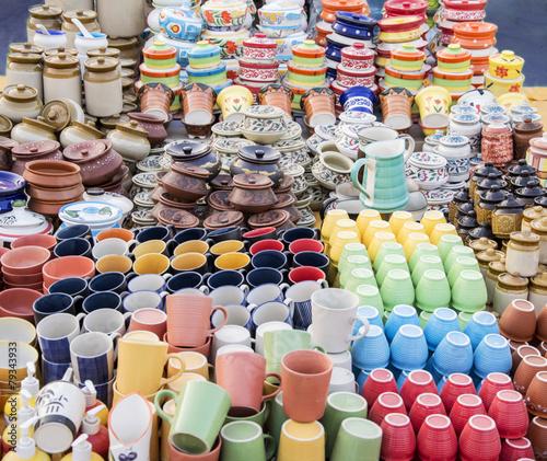 Ceramic cups on sale - 79343933