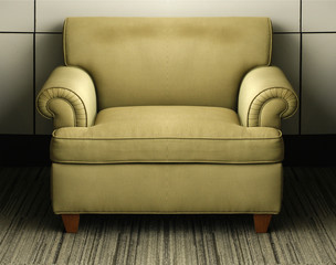 vintage old couch