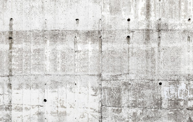 Old gray concrete wall with details, background texture