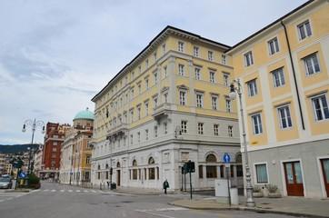 Centre-ville de Trieste, Italie