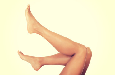 Perfect female legs.