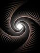 Spiral tunnel light