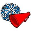 Cheerleading Icon - 79351368