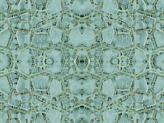 Futuristic Abstract Arabesque Pattern