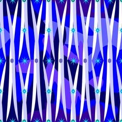 Vector illustration of blue pattern