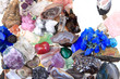 color minerals and gems collection - 79352394