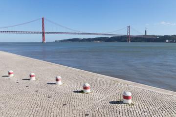 25th april bridge, Lisbon, Portugal.