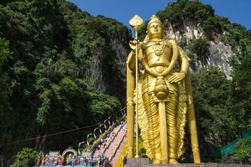 Batu Cave, Malaysia - Statue of Lord Muragan