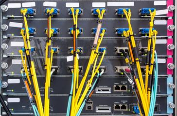 Fiber Optic on network core switch