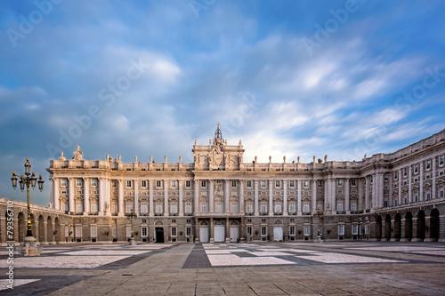 Foto Spatwand Madrid Royal Palace, Madrid