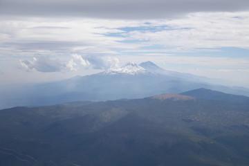 Popocatépetl und  Iztaccíhuatl
