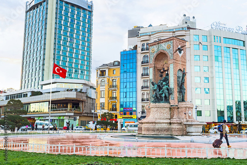 Foto op Aluminium Turkey The notable landmark