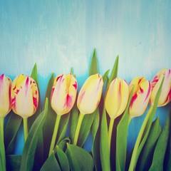 Frühlingsgrüße - Tulpenstrauß