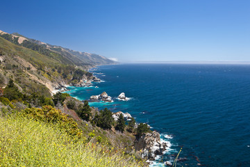 USA - Pacific Coast Highway one