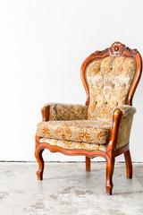 Brown Retro Chair