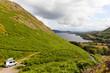 Pop top campervan Ullswater Lake District UK - 79359561