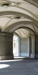 Gewölbe im Bundeshaus