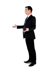 Business man arguing