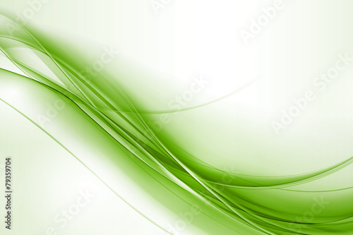 Deurstickers Abstract wave vague couleurs