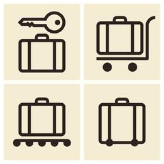 Тravel icons set