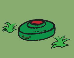 doodle anti-tank mine bomb