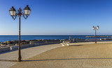 Promenade near the sea, Saintes-Maries-de-la-mer, France