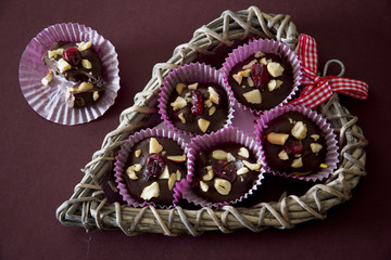 Chocolate and Nut Treat - Above