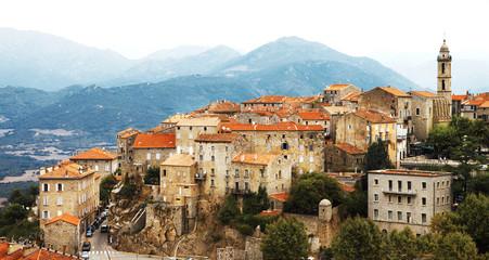 Sartene - impressive medieval hilltop village in Corsica