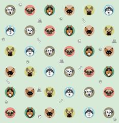 wallpaper different dog breeds